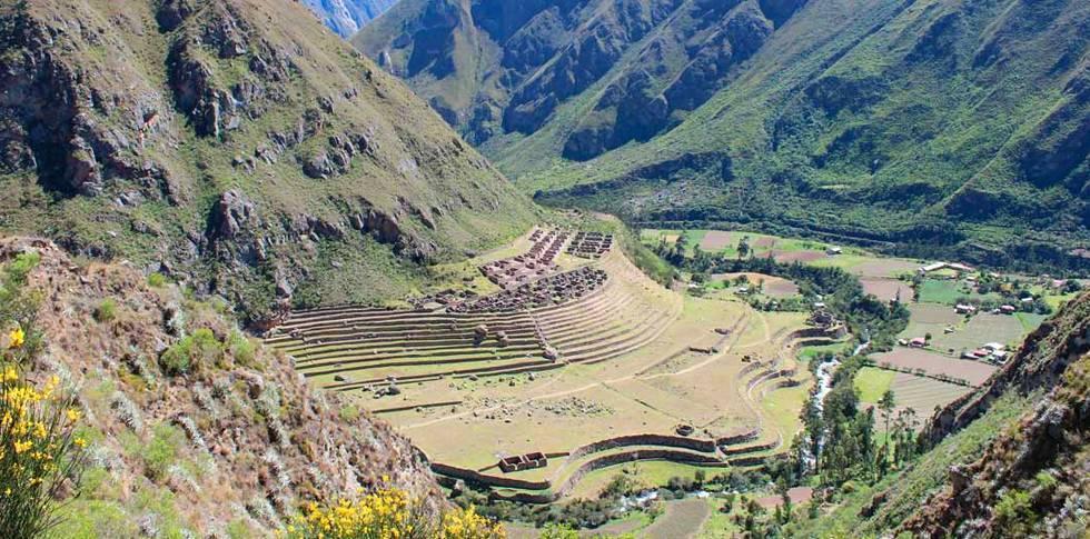 camino inca 4 wayllabamba