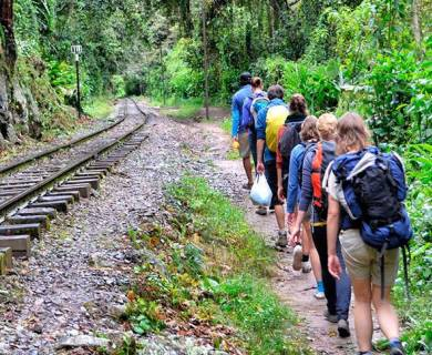 Inca Jungle To Machu picchu 4 days/ 3 nights